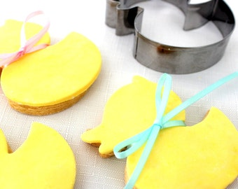 Baby Shower Biscuit Cookie Cutter - Duck