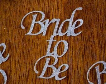 Bride to Be bridal shower confetti