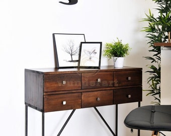 Console with 6 drawers