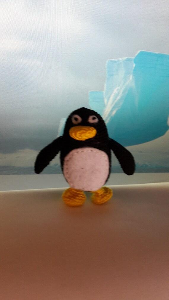 Amigurumi Linux Penguin : Penguin Amigurumi Penguin Crochet Penguin by JentoCrafts ...