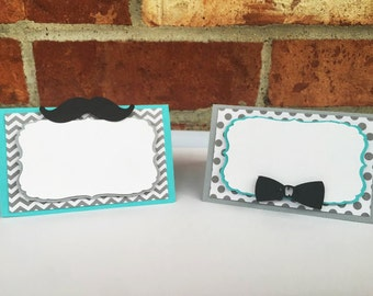 Little Man Food Labels. Little Man Party. Mustache Birthday Party. Little Man Baby Shower. Mustache Baby shower. Bow tie baby shower.