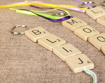 Scrabble sleutelhanger | Scrabble keychain
