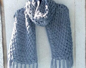 Crochet pattern; Oversize Scarf; blanket scarf; crochet scarf pattern; crochet blanket scarf; crochet pattern; large scarf;
