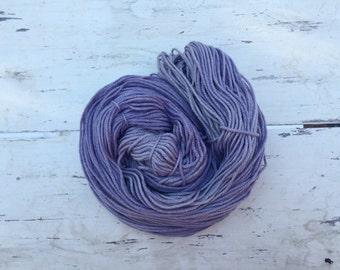 Logwood dyed 100% US Merino Worsted Weight ***Iris***