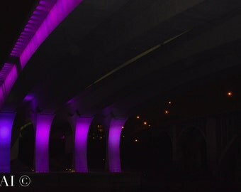 Purple Reigns/Prince/Prince Roger Nelson/Prince Memorial/I-35W Bridge/Minneapolis/Minnesota/photography
