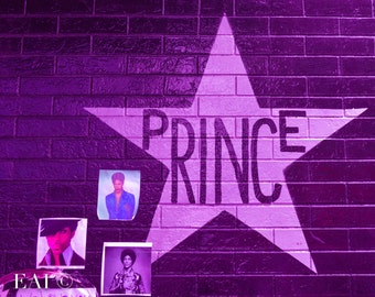 Prince's Star/Purple/Prince/Music Legend/Photography/First Ave/Minneapolis