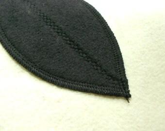 7 x sanitary-leaf intralabial inter labial panty liner pads menstrual hygiene 100% CO Molton