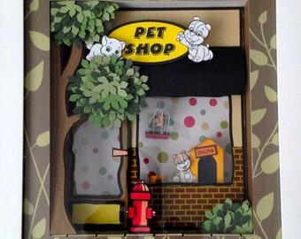 Pet Shop Frame