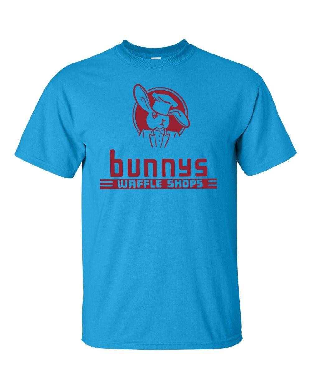 Bunny's Waffle Shops Vintage Matchbook T-shirt