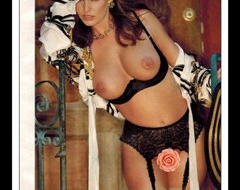 "Mature Celebrity Nude Supermodel : Becky DelosSantos Single Page Photo Wall Art Decor 8.5"" x 11"""
