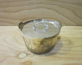 Vintage Leonard EPNS A1 Silver Plated Sugar or Condiments Bowl With Lid