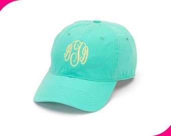 Monogram Baseball Hats/Caps-Mint