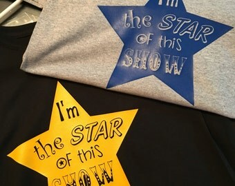 I'm the Star of this Show kids shirt
