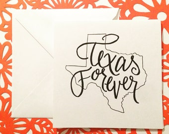 Card Set of 4: Texas Forever