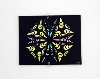PARABALOS: Original Acrylic Painting on Canvas Panel