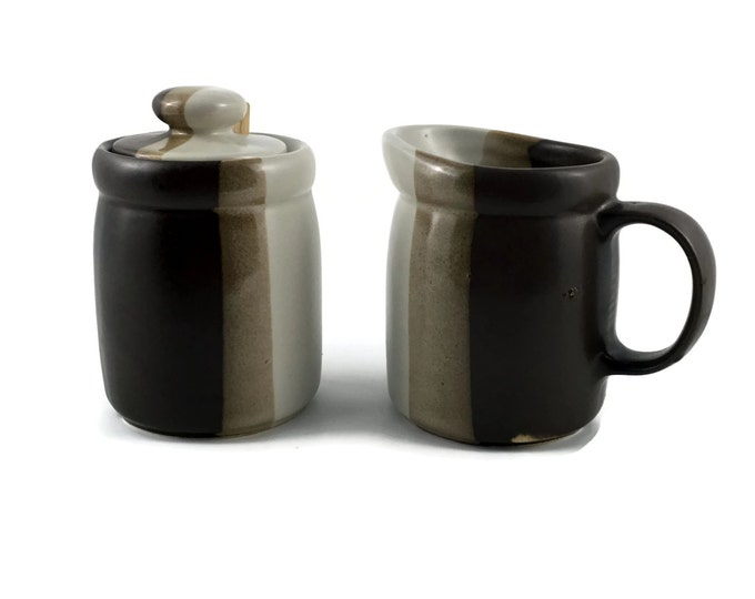 McCoy Pottery Creamer and Sugar Set
