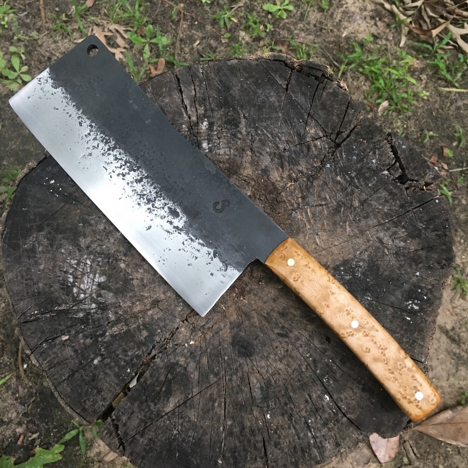 Butcher Knife: Meat Cleaver Butcher Knife Knife Hand Forged Knife