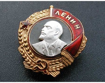 USSR Red Army WW2 Soviet award military Order of LENIN