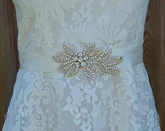 Wedding Belt, Bridal Sash, Bridal Belt, Sash Belt, Wedding Sash, Bridal Sash Belt, Custom Sash Belt, Bridal Wedding Belt, Beaded Sash