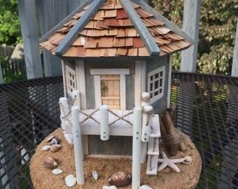 Miniature Garden Beach House