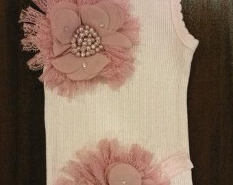 Baby girl vintage inspired singlet.Embellised singlet.Baby girl singlet. Sizes 0000,000,00,0,1,2