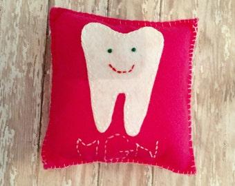 Felt Tooth Fairy Pillow