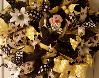 Bumblebee Wreath