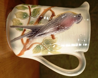 1960's St. Clement France Bird Pitcher, perfect!