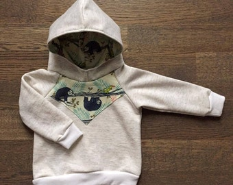 "Hoodie for babies & children ""Mr lazy"""