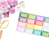 These Could Wait -- GIRL BOSS -- Matte Planner Stickers