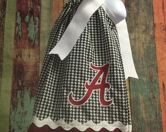 alabama pillowcase dress, crimson tide dress, pillowcase dress