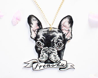 Personalised Pet Portrait Necklace