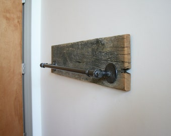 Barn Wood Towel Rack