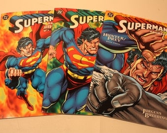 1994 DC Comics / Superman / Doomsday /Hunter/Prey