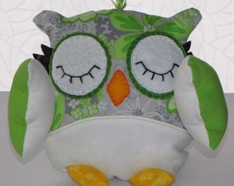 Pretty green owl!