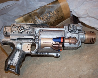 Space Pirate Steampunk Weapon - Customized Nerf Gun - Made to Order