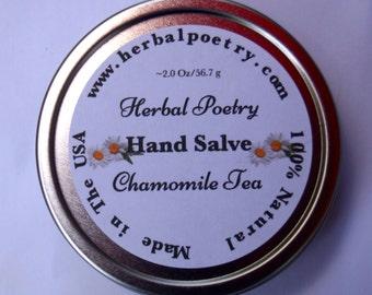 100% Natural Chamomile Tea Hand salve
