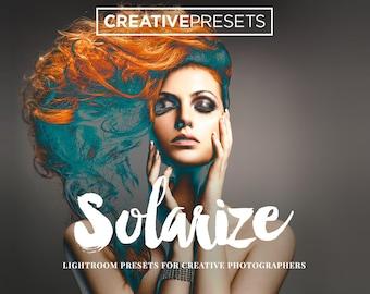 50 Solarize Lightroom Presets - The Sabbatier Effect - Creative Presets for Photographers