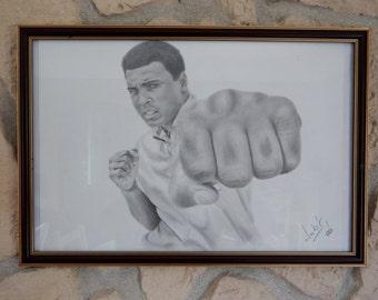 Muhammad Ali Pörtrait