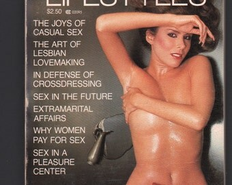 Mature Vintage Penthouse Forum Forum Lifestyles Mens Girlie Pinup Mini Magazine : 1982