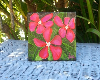 Original Painting - Flower Painting
