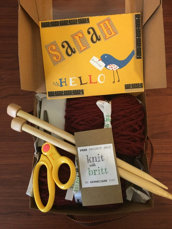 Knitting Kit For Beginners Singapore : Knitting kit for beginners customize your knit with britt