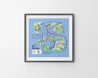 Final Fantasy Subway - NES Map Series