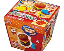 Japanese Popular DIY Kit !! Kutsuwa Kawaii Hamburger Eraser Making Kit with Scented Clay - Shipping from Japan