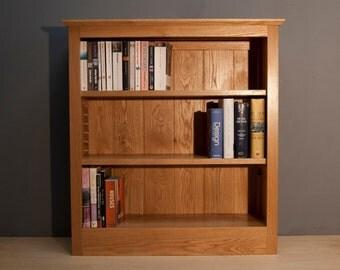 American oak bookcase