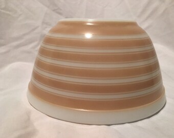 Pyrex Tan Stripes 402