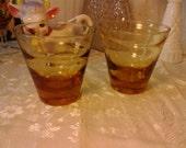 Libbey Ripple Wave Classic Cocktail Rocks Martini Glasses