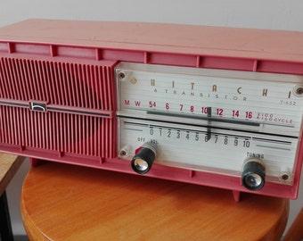 Hitachi t-652 6 transistor radio