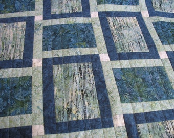 Nature quilt, FREE SHIPPING
