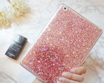 Pony Pink glitter ipad mini 2 case ipad mini cases ipad case ipad cover ipad mini cover tablet case ipad mini sleeve mini ipad case gift